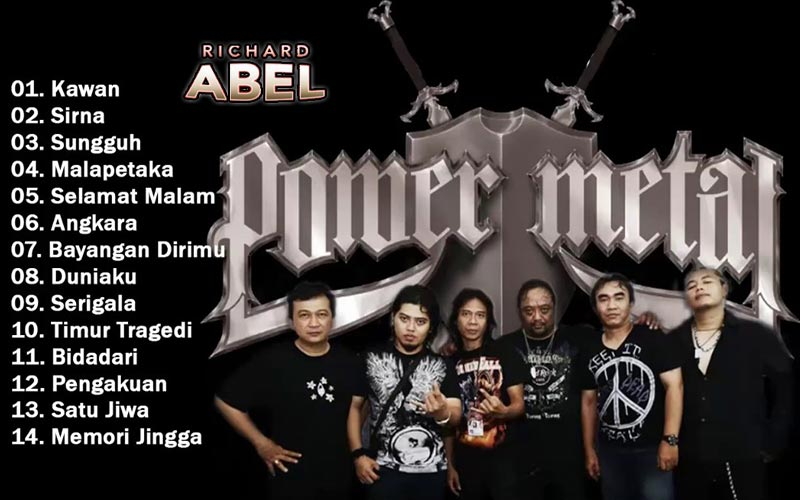 Memori jingga – power metal